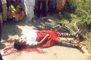 Blood that clots on Indian Road, Dream (Sapana ) has no value here ! Thanks to Gender & Caste Virus