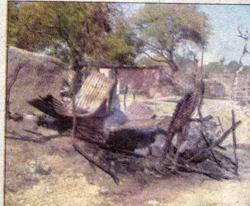 Burnt house, stale household in Khadki