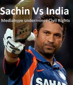 Pic01: Sachin Tendulkar's Media undermines Indian Cause